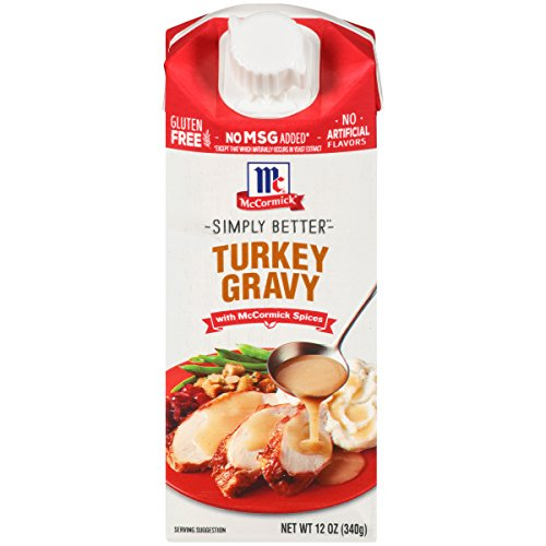 McCormick Simply Better Turkey Gravy 12 oz
