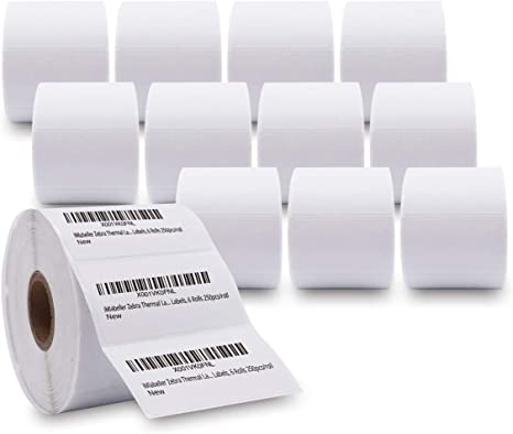 22 Rolls 450 Each Direct Thermal Labels 4x6 for Zebra Eltron 2844 Zp450 Zp505