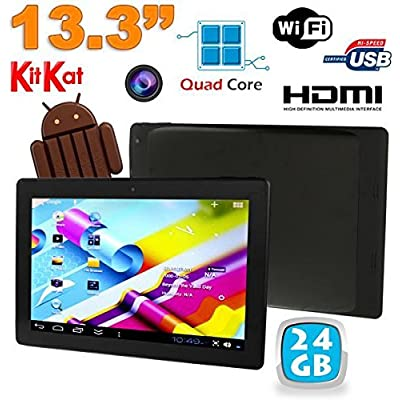 13  Inches Touch Screen Tablet Android 4 4  Kitkat Wifi Bluetooth 24GB