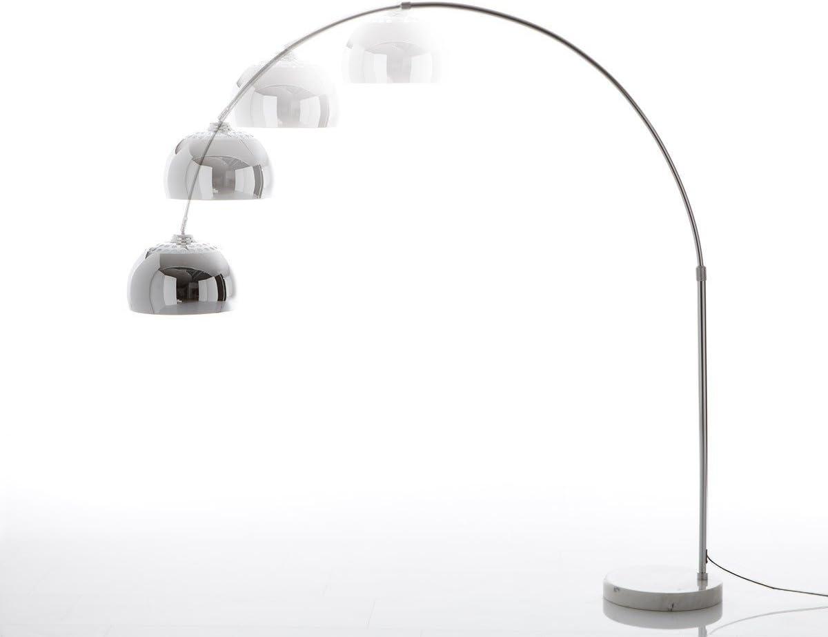 Stehlampe Big Deal Xl Silber Weiss Dimmbar Hohenverstellbar