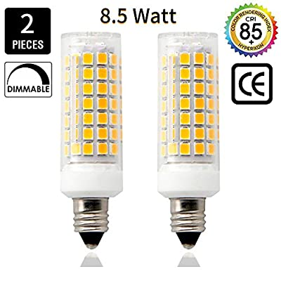 E11 Led Bulbs 8 5 Watt 75w 100w Halogen Bulbs