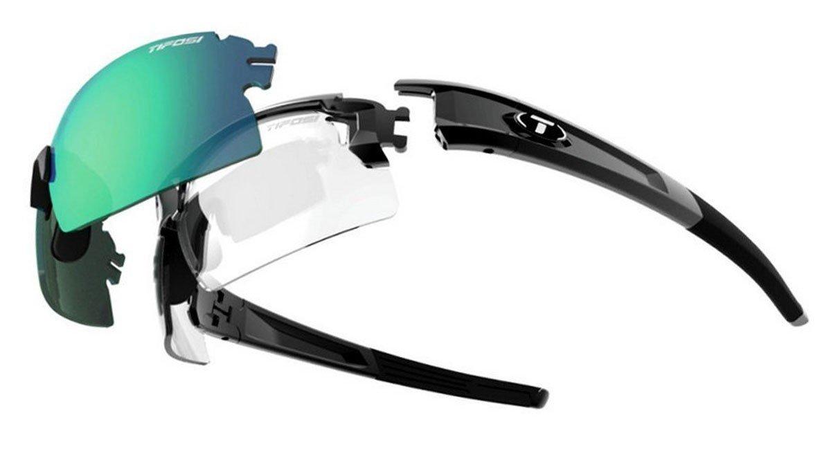 Tifosi Pro eskalieren Hälfte & Shield Sonnenbrille