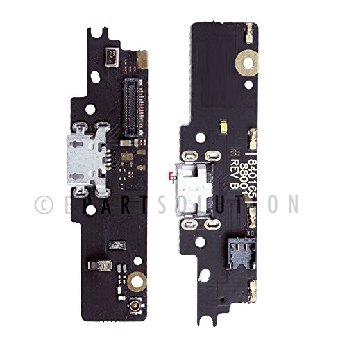 ePartSolution_Motorola Moto G4 Play XT1607 XT1609 USB Charger Charging Port Flex Cable Dock Connector USB Port Flex Cable + Mic Flex Cable Replacement Part USA (Motorola Usb Mic)