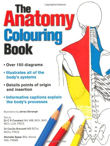Anatomy Colouring Book by New Holland Publishers Ltd