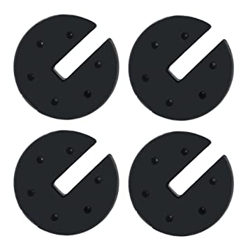 CROWN SHADES Canopy Weight Plates Set of 4-pc for Canopy  sc 1 st  Amazon.com & Amazon.com : CROWN SHADES Canopy Weight Plates Set of 4-pc for ...