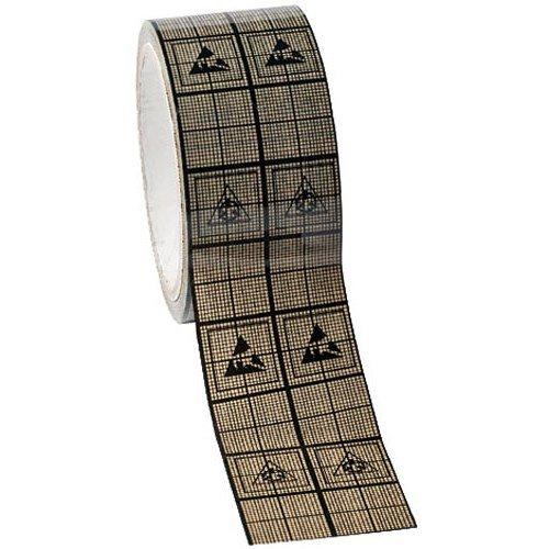 Desco 81253 Conductive Shielding Grid Tape, 2'' x 118'