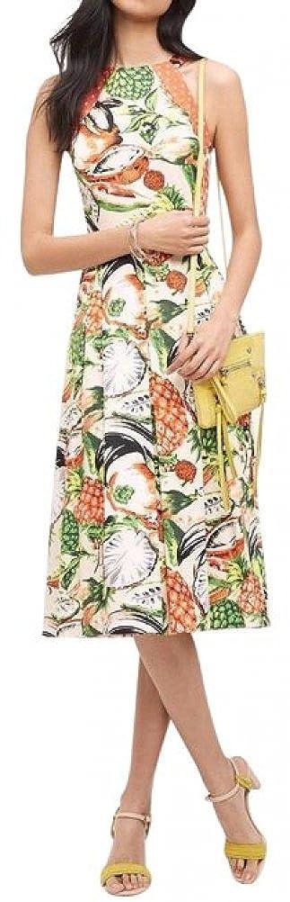 9c87684c0d47b Top1: Anthropologie Pineapple Halter Dress by Eva Franco $188 Sz 4P - NWT