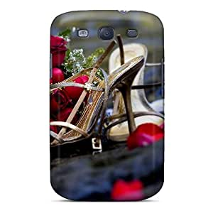 Galaxy S3 Cover Case - Eco-friendly Packaging(sandals And Flowers After The Wedding)