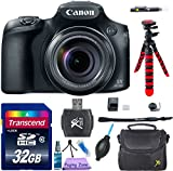 Canon PowerShot SX60 HS Digital Camera (Wi-Fi Enabled) w/ 8pc Accessory Bundle
