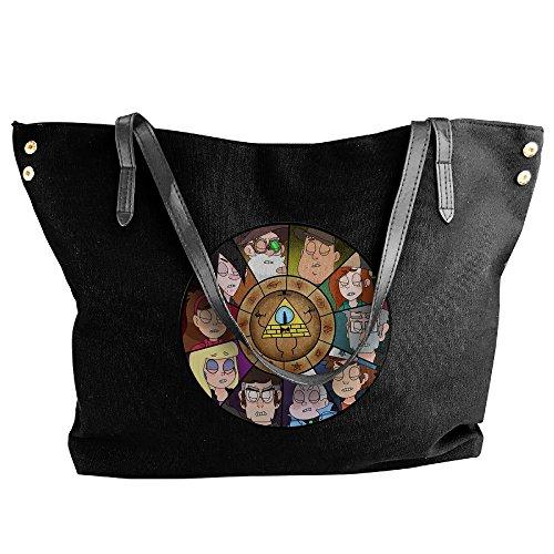 Mabel Sweater Costume (Gravity Falls Women's Canvas Handle Single Shoulder Bag/Handbag)