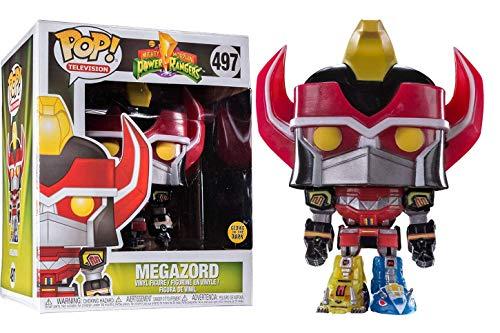 - Funko Power Rangers Megazord Glow-in-The-Dark 6-Inch Pop! Vinyl Standard