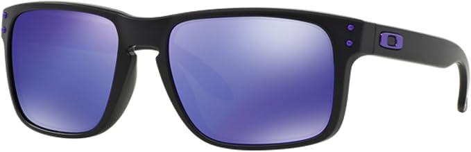 Oakley MOD. 9102, Occhiale da Sole, Multicolore (Matte Black Emerald Iridium Polar), Taglia Unica