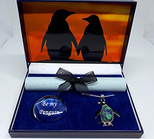 Penguin gift box,Sunset Tryst with abalone (Penguin Gift Box)