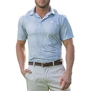 Jolt Gear Mens Dry Fit Golf Polo Shirt, Athletic Short-Sleeve Polo Golf Shirts