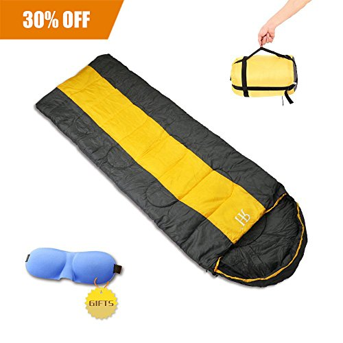 3 Season Single Sleeping Bag for Camping,Warm Weather Portable & Lightweight Bacpacking Hiking Sleeping Bag for ,or Sleeping Pad,Compression Sack Waterproof for Indoor and Outdoor--Rainbow - Silk Faux Liner