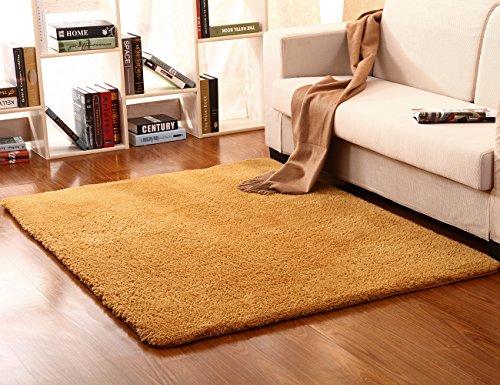 Singtryee Soft Arctic Velvet Carpet Indoor Shaggy Area Rugs Children Play Carpet for Sofa Living Room Bedroom Mats (1'7