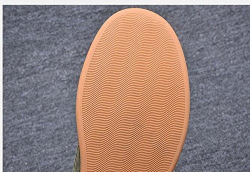 Green Qiu Uomo Stringate 39 Brown Marrone Scarpe ping qFHcrFp