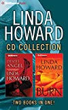 img - for Linda Howard CD Collection 4: Death Angel, Burn book / textbook / text book