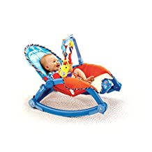 Fisher Price Infant to Toddler Rocker Bouncy Chair Baby Recliner with Birdie Toy