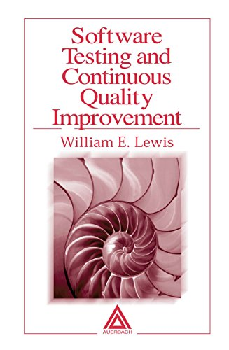Download Software Testing and Continuous Quality Improvement Pdf