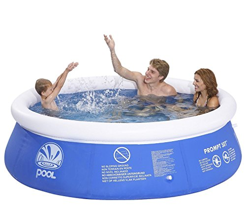 Pool Central Inflatable above Ground Prompt Set Swimming ...