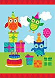 Best Blue Sky Candles - Toland Home Garden 1110796 Party Owls-Decorative Celebrate Colorful Review