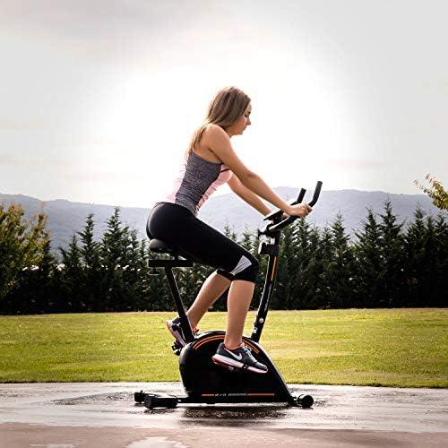 Tecnovita Bici estática EVO B2000A. Negra. Compacta. Garantía BH: Amazon.es: Deportes y aire libre