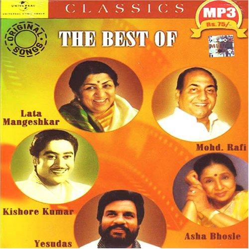 The best of lata mangeshkar-mohd.rafi-kishore kumar-asha bhosle-yeshudas-mp3(indian/hindi/collection /film hits/rafi/kishor kumar/lata/asha bhosle) (Hits Of Mohd Rafi And Lata Mangeshkar)