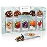 Tea Forté SINGLE STEEPS Loose Leaf Tea Sampler, 15 Single Serve Pouches (Winter Collection)