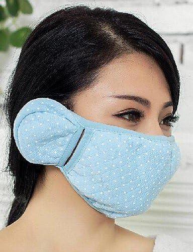 Ch&Ch TY duales cálidos máscaras de algodón grueso de las mujeres , gray-one-size , gray-one-size: Amazon.es: Deportes y aire libre