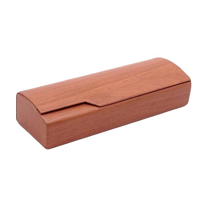 Amazon.com: Material de madera forma de cuboide con funda de ...