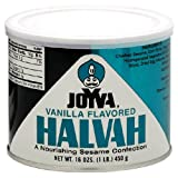 Joyva Vanilla Halvah, 16-Ounce Cans (Pack of 3)