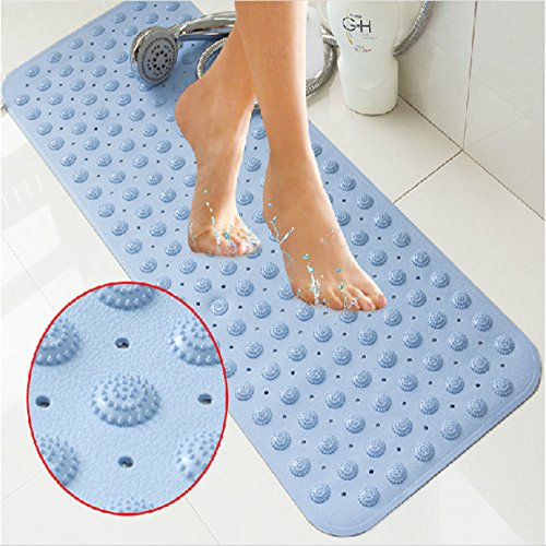 Product Light Yellow, 35 x 70 cm : PVC non-slip bath mats...