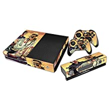 GOOOD Vinyl Fashion Skin Decal for Xbox one Console and 2PCS Xbox one Controller Skins Stickers - Gta-V