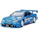 タミヤ 1/24 スポーツカーシリーズ No.219 カルソニック スカイライン GT-R R34 プラモデル 24219