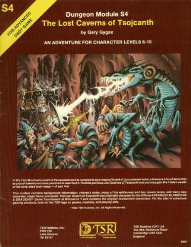 The Lost Caverns of Tsojcanth (Advanced Dungeons & Dragons Module S4) (Dungeon And Dragons Modules compare prices)