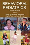 Behavioral Pediatrics, Donald E. Greydanus, 0595378013
