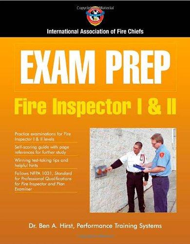 Exam Prep: Fire Inspector I  &  II (Merch Safety Fire)