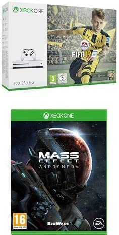 Xbox One - Pack Consola S 500 GB + FIFA 17 + Mass Effect: Andrómeda: Amazon.es: Videojuegos