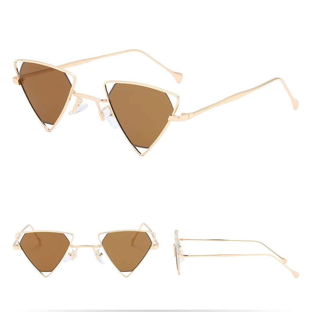 FORUU Glasses Fashion Man Women Irregular Shape Sunglasses Vintage Retro Style