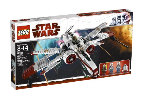 LEGO Star Wars ARC-170 Starfighter (8088) (Wars Fisto Star Kit Wars Clone)