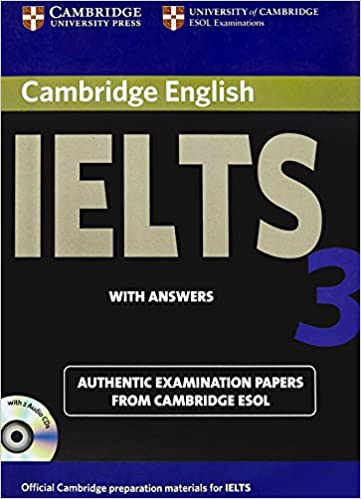 Buy Cambridge English Ielts 3: with Answers with 2 Audio CDs