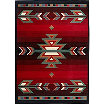 Amazon Com South West Native American Area Rug 8 Ft X 10