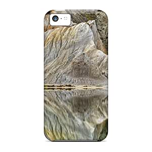 Fashion Cases For Iphone 5c- White Cliffs Reflected Defender Cases Covers