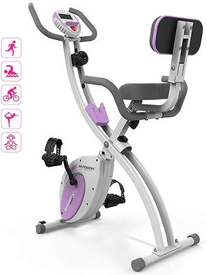 Mini Bicicleta Estática Bicicleta Estática Plegable Cubierta Máquina De Pérdida De Peso La Bicicleta Estática Gimnasio Bicicleta Estática Fuerte Capacidad De Carga: Amazon.es: Deportes y aire libre