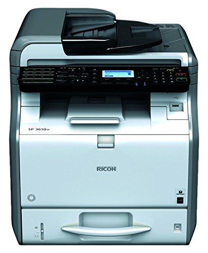 Ricoh SP 3610SF - Impresora multifunción (Laser, 600 x 600 ...