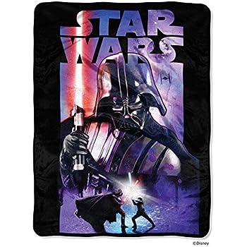 "Star Wars, Darth Night Micro Raschel Throw, 46"" x 60"""