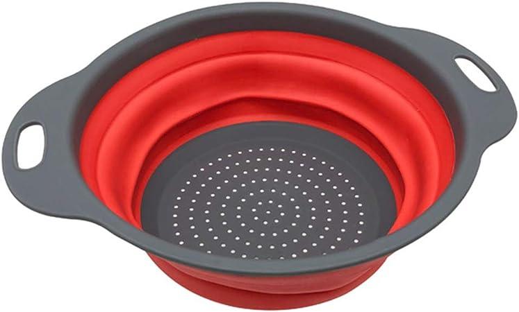 Panier pliable pliable de passoire de passoire de cuisine extérieure à