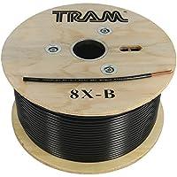 TRAM 8X-B RG8X 500ft Roll Tramflex Coaxial Cable
