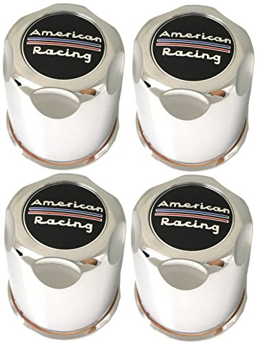 American Racing Set (4pcs) AR Chrome Wheel Center Caps 3. 27